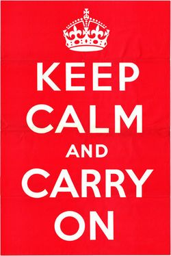 Leadership Skills: Keep Calm and Carry On