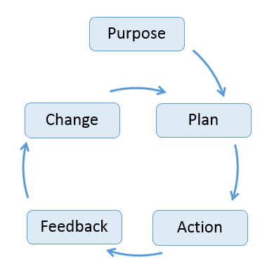 Purpose Plan Action Feedback Change